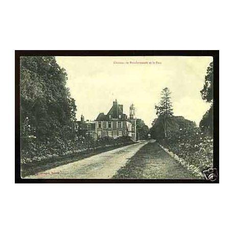 Carte postale 27 - Chateau de Boisdenemetz et le parc