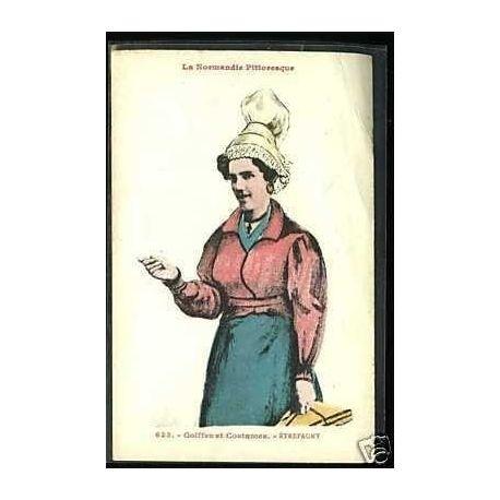 Carte postale 27 - Coiffe et costumes - Etrepagny