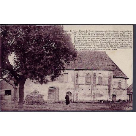 Carte postale 27 - Commune de Ste Opportune-du-Bosc - Ferme de Notre-Dame-du-Bosc - Voyag...