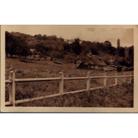 Carte postale 27 - Courval - Trouville-la-Haule -- Non voyage - Dos divise...
