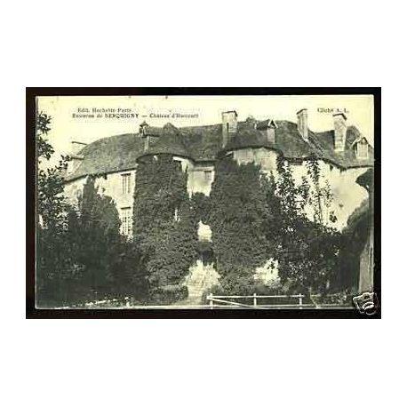 Carte postale 27 - Env. de Serquingy - Chateau d'Harcourt