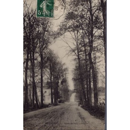 27 - Le Vaudreuil - Route de Paris a Rouen - Voyage - Dos divise...