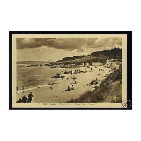Carte postale 29 - Beg-Meil - Plage des Dunes