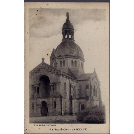 29 - Berne - Le sacre-Coeur - Non voyage - Dos divise...