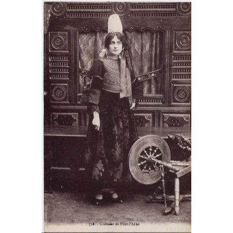 Carte postale 29 - Costume de Pont-l'Abbe - Non voyage - Dos divise