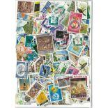 Used stamp collection Ceylon/Sri Lanka