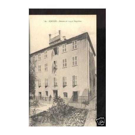 Carte postale 20 - AJACCIO - MAISON OU NAQUIT NAPOLEON