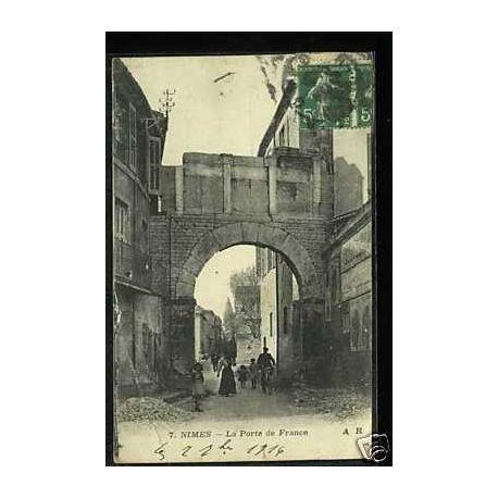 Carte postale 30 - Nimes - La porte de France