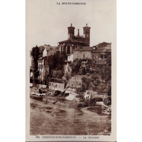 Carte postale 31 - Cazeres-sur-Garonne - La Montjoie - Voyage - Dos divise...