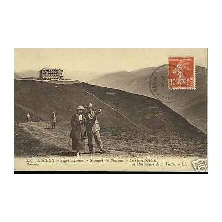 Carte postale 31 - Luchon - Superbagneres - Le Grand Hotel