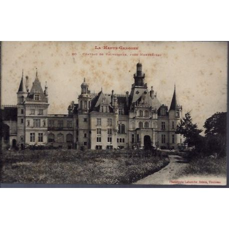 Carte postale 31 - Pres Montrejeau - Chateau de Valmirande - Non voyage - Dos divise...