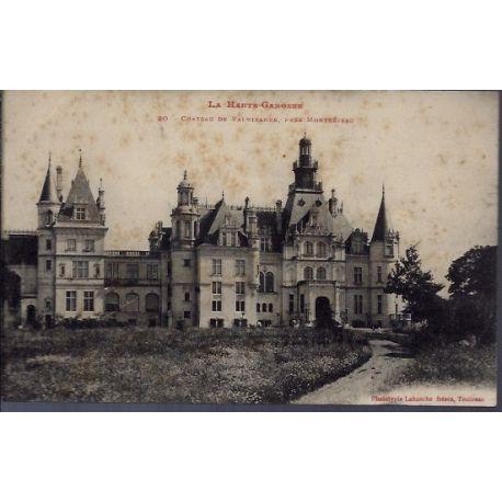 31 - Pres Montrejeau - Chateau de Valmirande - Non voyage - Dos divise...