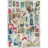 Sammlung gestempelter Briefmarken Chile