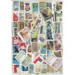 Used stamp collection Chile
