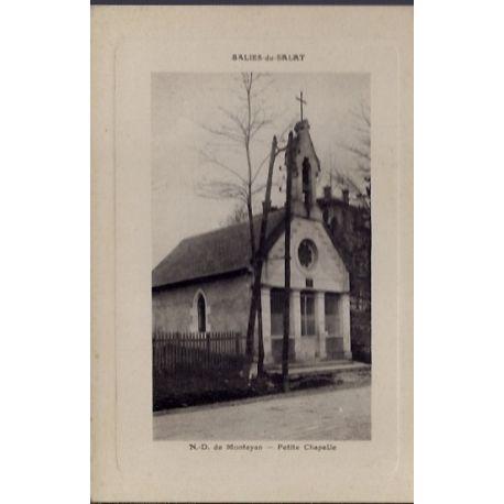 Carte postale 31 - Salies-du-Salat - N-D. de Montayan - Petite chapelle - Non voyage - Do...