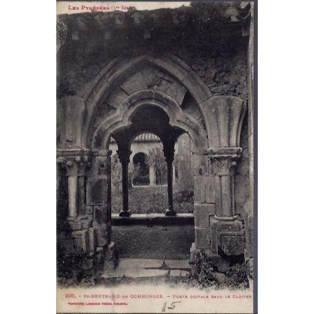 Carte postale 31 - St-Bertrand-de-Comminges - porte ogivale dans le cloitre - Voyage - Do...