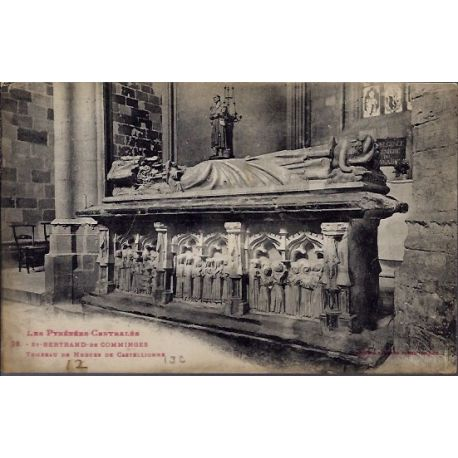 Carte postale 31 - St-Bertrand-de-Comminges - Tombeau de Hugues de Castellionne - Voyage ...