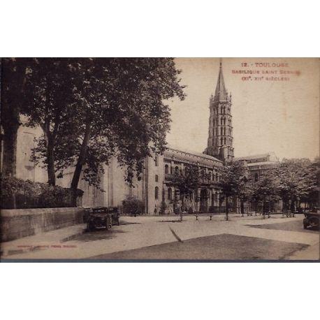 Carte postale 31 - Toulouse - Basilique Saint-Sernin XI, XIIeme siecles - Non voyage - Do...