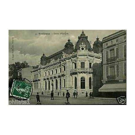 Carte postale 31 - Toulouse - La Caisse d'epargne
