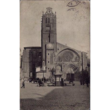 Carte postale 31 - Toulouse - La cathedrale Saint-Etienne XVeme siecle - Voyage - Dos div...