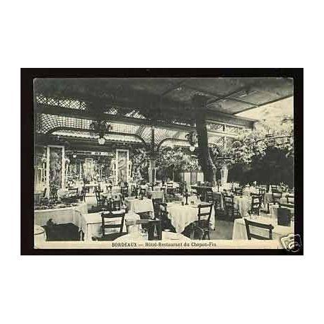 Carte postale 33 - Bordeaux - Hotel-Restaurant du Chapon-Fin