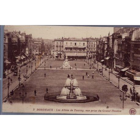 33 - Bordeaux - Les allees de Tourny - vue prise du Grand Theatre - Voyage ...