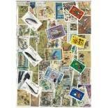 Sammlung gestempelter Briefmarken China