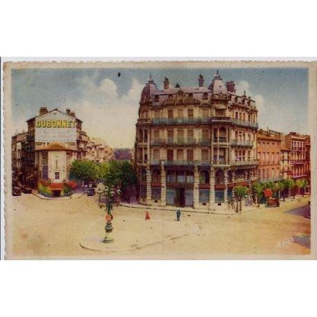34 - Beziers - Place de la victoire - Voyage - Dos divise