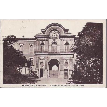 34 - Montpellier - Caserne de la citadelle du 28e