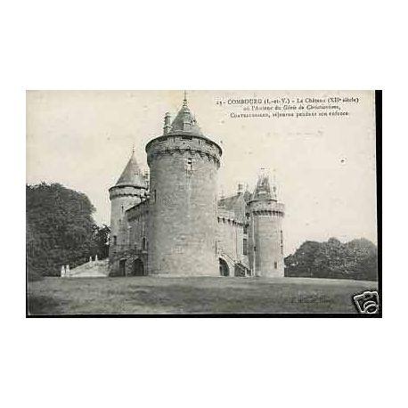 Carte postale 35 - Combourg - Le Chateau