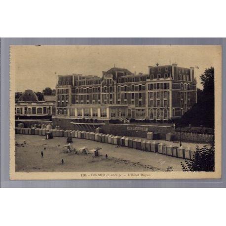 35 - Dinard - L' Hotel Royal - Voyage - Dos divise ...