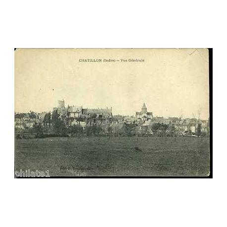 Carte postale 36 - Chatillon - Vue generale