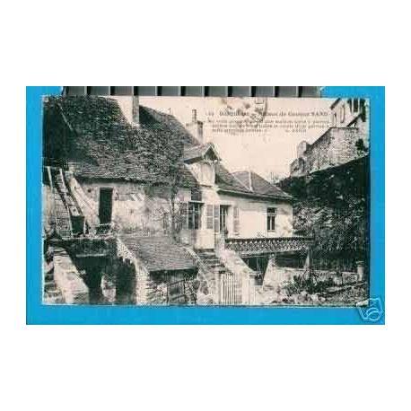 Carte postale 36 - GARGILESE - MAISON DE G. SAND