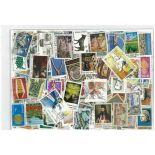 Zypern-Sammlung gestempelter Briefmarken