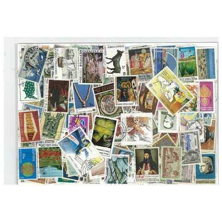 Zypern - 25 verschiedene Briefmarken