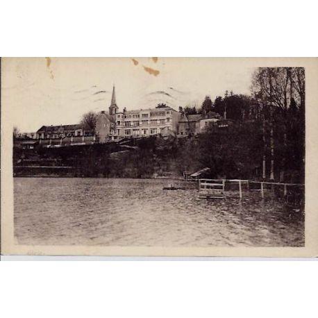 Carte postale 37 - Chateau-la-valliere - Le lac -Voyage - Dos divise