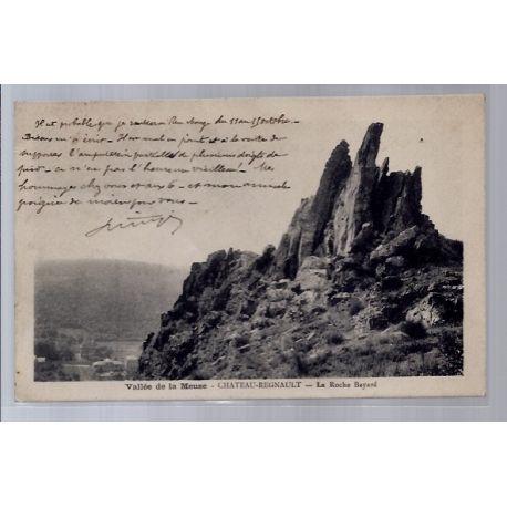Carte postale 37 - Chateau-Regnault - Vallee de la Meuse - La roche Bayard - Voyage - Dos...