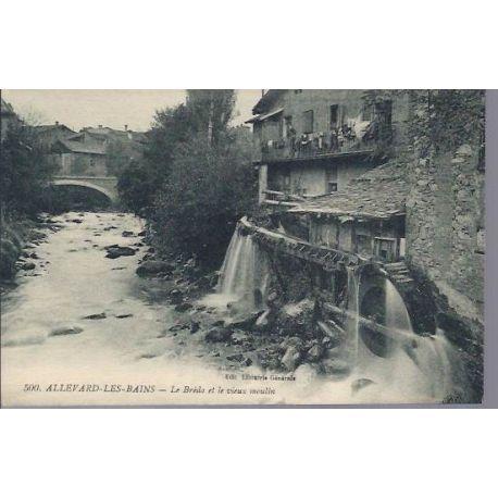 38 - Allevard - Le Breda et le vieux Moulin