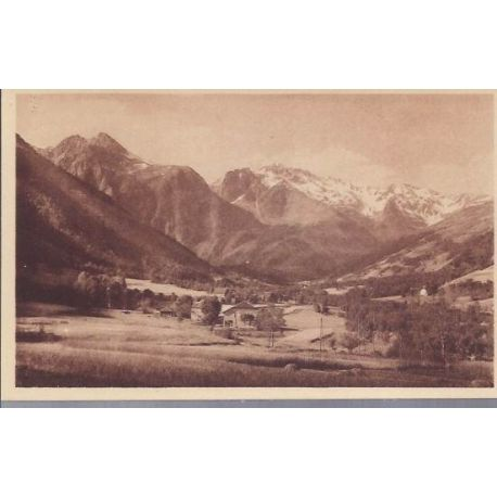 Carte postale 38 - Allevard - Le Thervoz-Curtillard