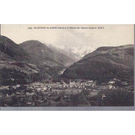38 - Allevard les bains - Glacier du Gleyzin