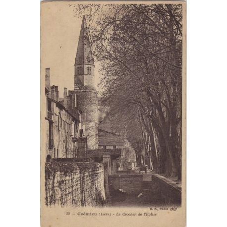 38 - Cremieu - Le clocher de l'Eglise