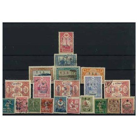 Collection de timbres Cilicie oblitérés