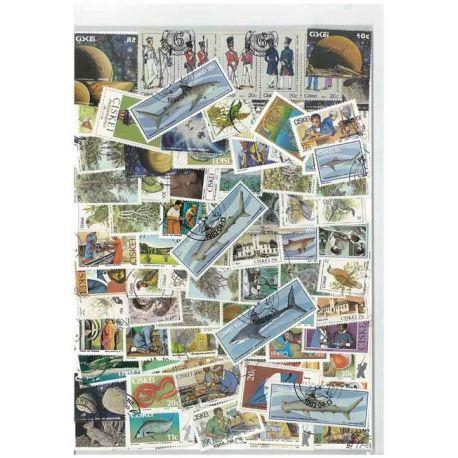 Ciskei - 10 verschiedene Briefmarken
