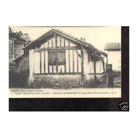 Carte postale 40 - ST VINCENT DE PAUL - MAISON RANQUINE