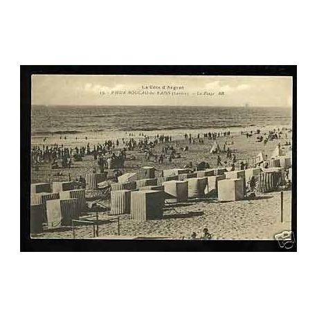 Carte postale 40 - Vieux-Boucaux-les-Bains - La plage