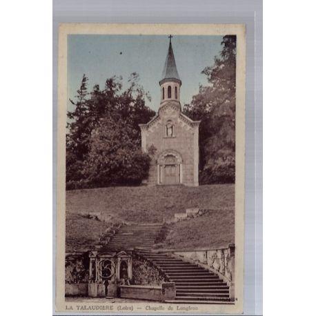 42 - La Talaudiere - Chapelle de Longiron - Voyage - Dos divise...