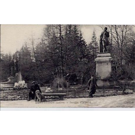 42 - Montbrison - Jardin d'Allard - Voyage - Dos divise