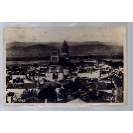 Carte postale 43 - Brioude - Vue generale - Voyage - Dos divise...