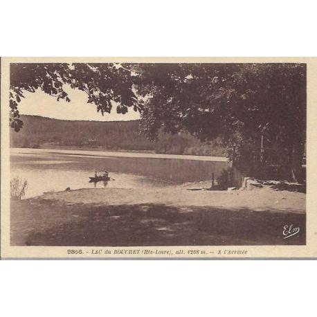 Carte postale 43 - Lac du bouchet - A l'arrivee