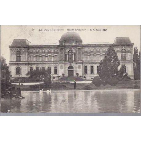 Carte postale 43 - Le Puy - Musee Crozatier